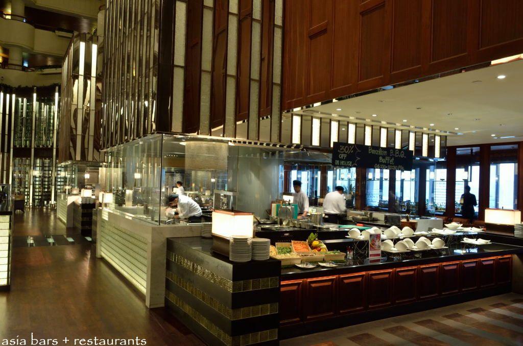 Restaurant At Crowne Plaza Bangkok