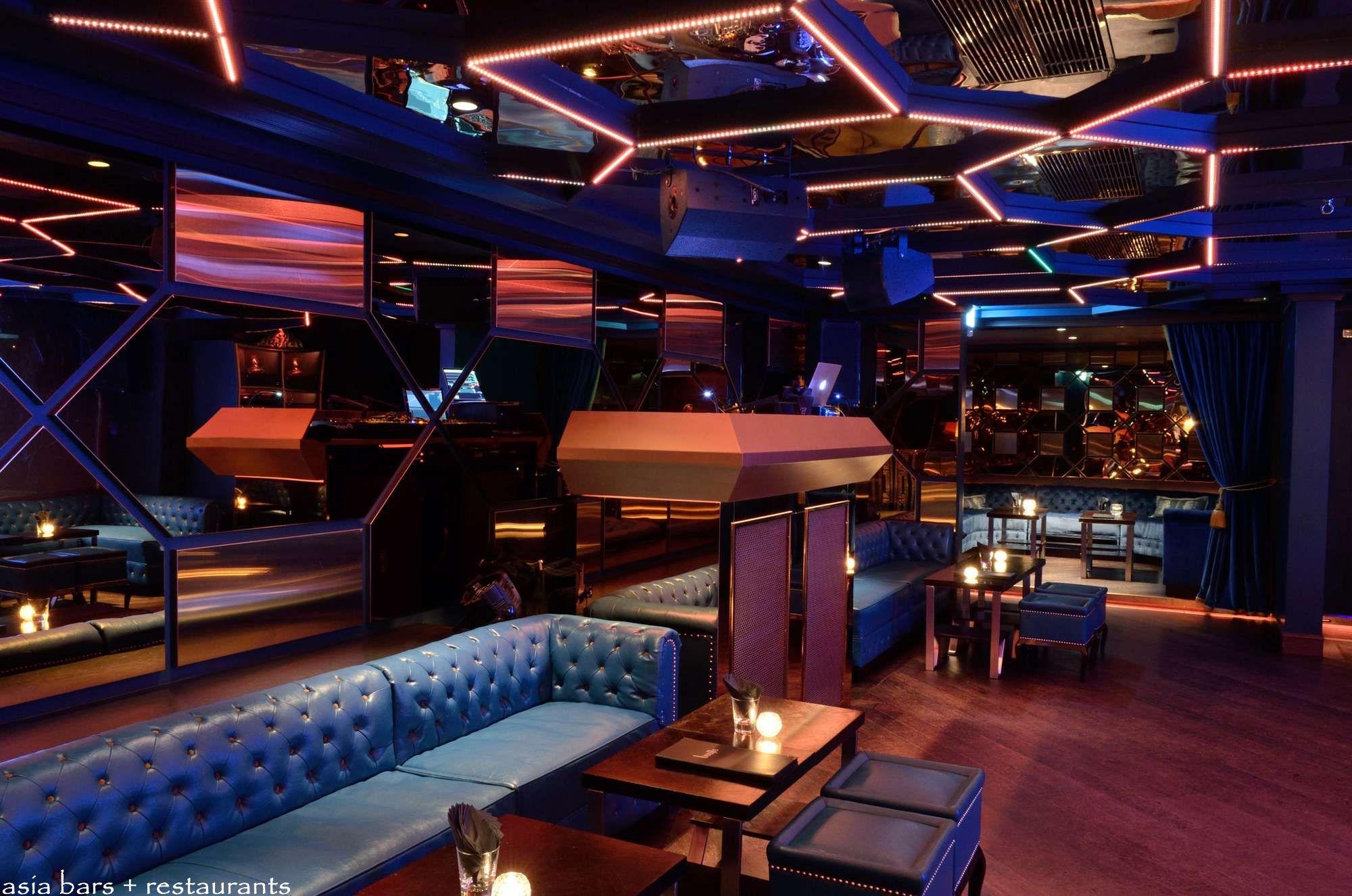 Interior Designer Boujis Hong Kong Exclusive Private Members Club Asia