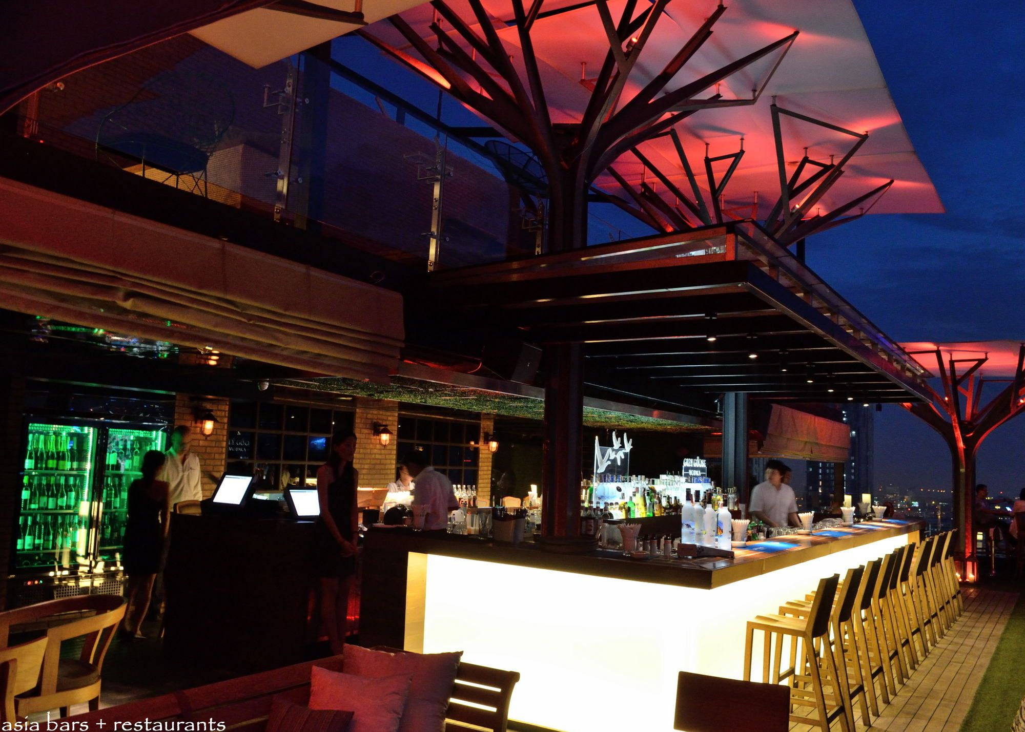 Above Eleven Rooftop Bar amp Restaurant Bangkok Asia