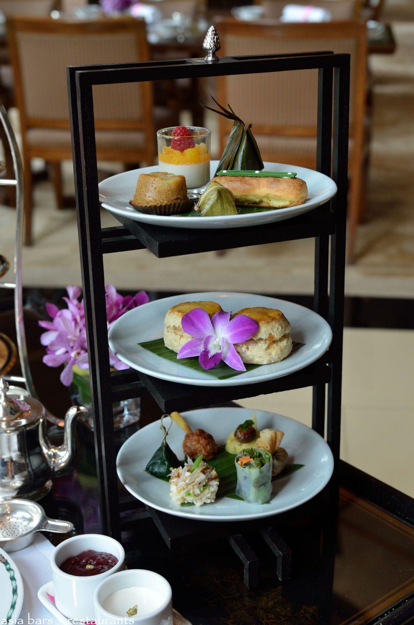 Afternoon Tea At The Lobby The Peninsula Bangkok Asia