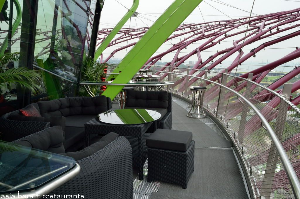 Supertree By Indochine Rooftop Bar Amp Lounge In Singapore