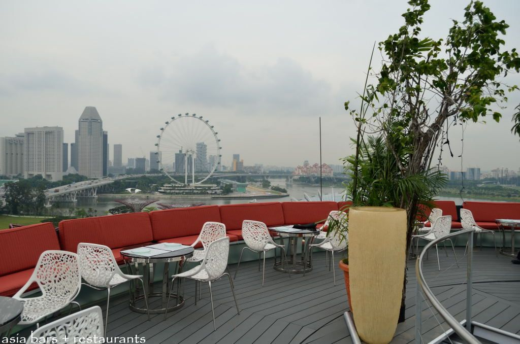 SuperTree by IndoChine- rooftop bar & lounge in Singapore
