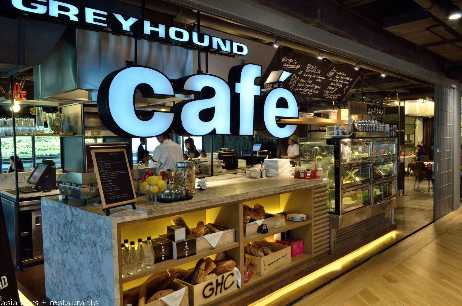 Greyhound Cafe- Siam Center Bangkok | Asia Bars & Restaurants