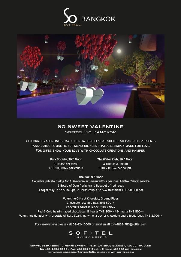 sofitel so bkk - valentine-