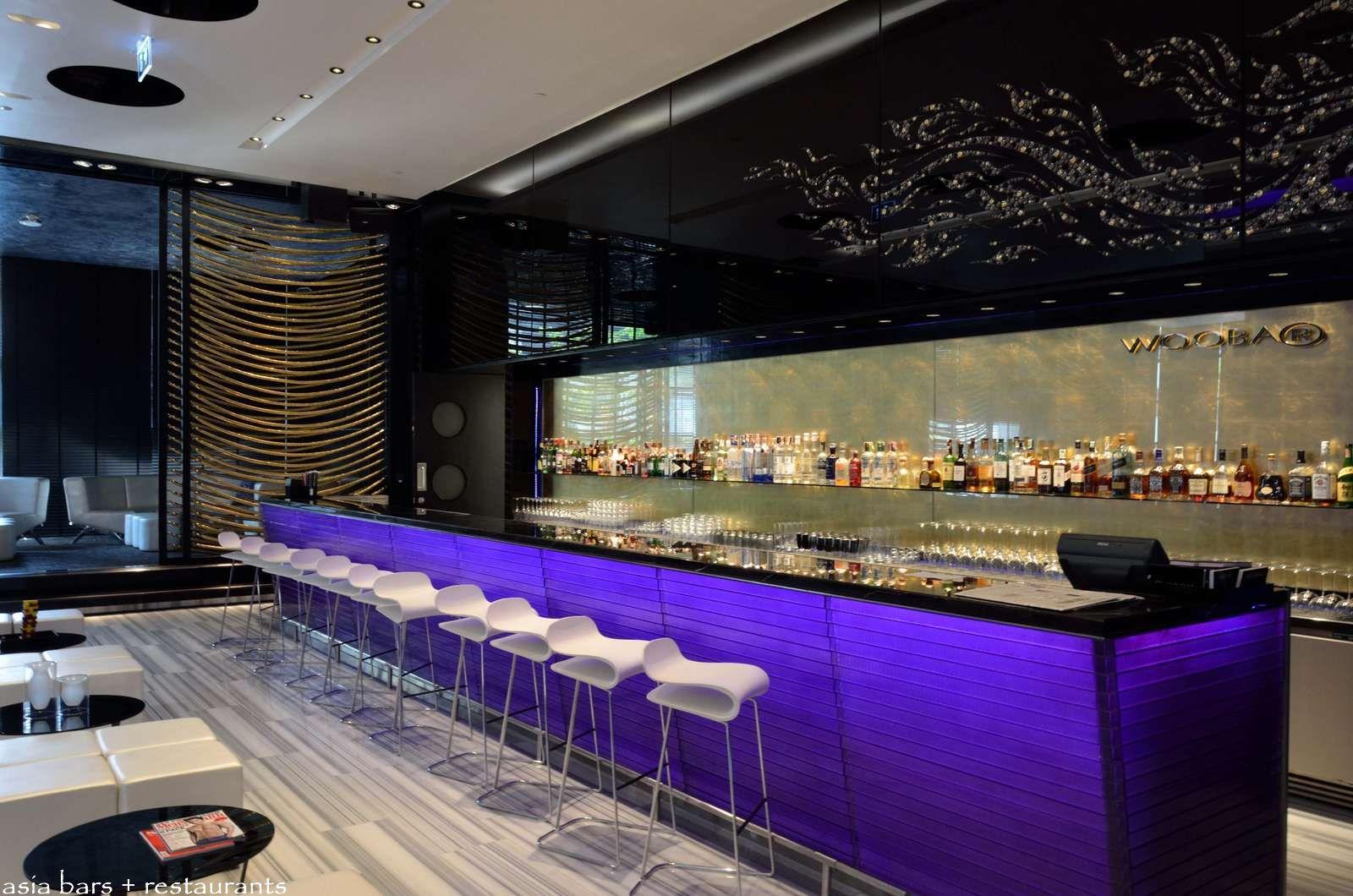 Woobar Bar Lounge At W Bangkok Asia Bars Restaurants