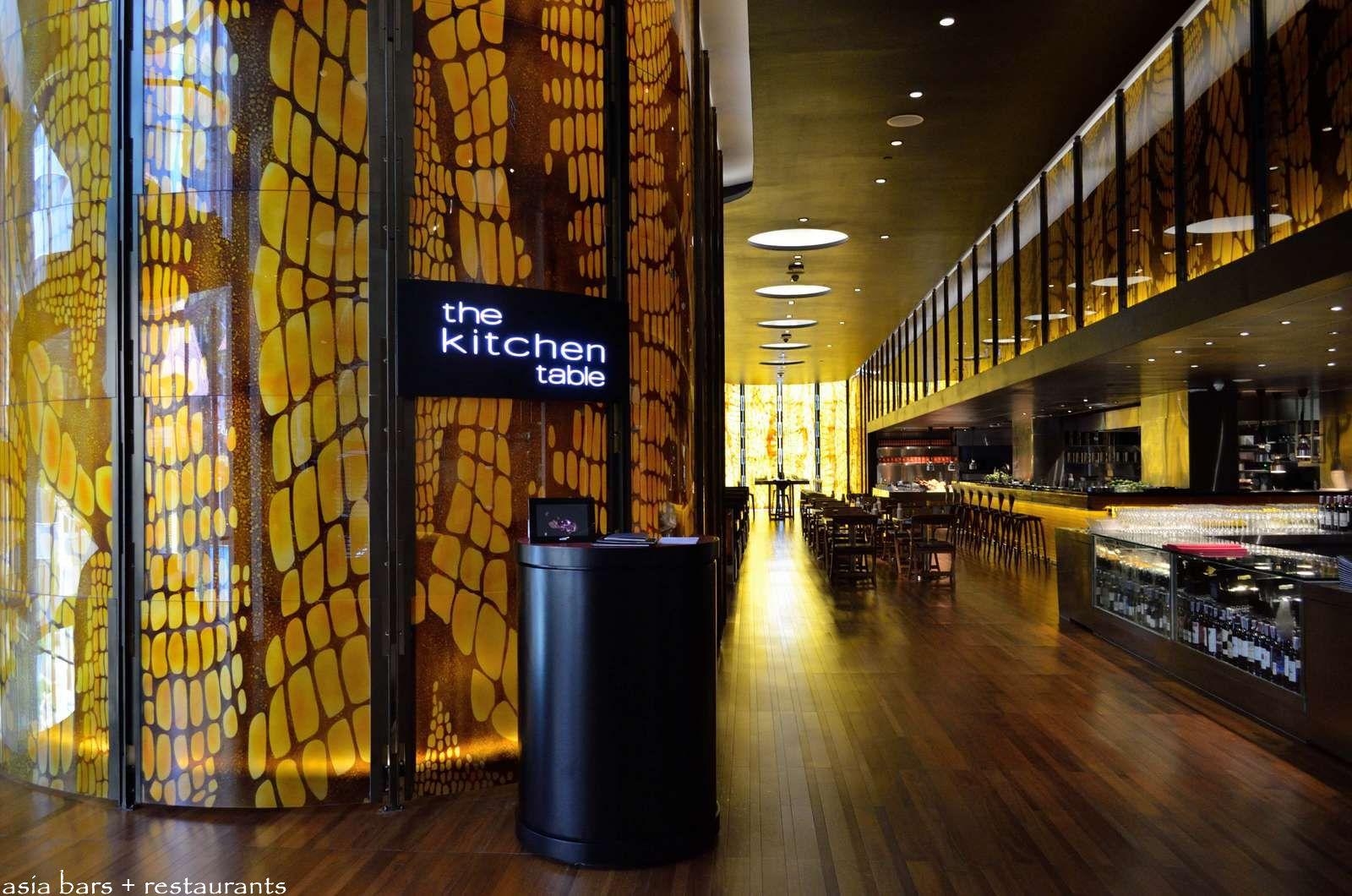 W Hotel Bangkok Restaurant