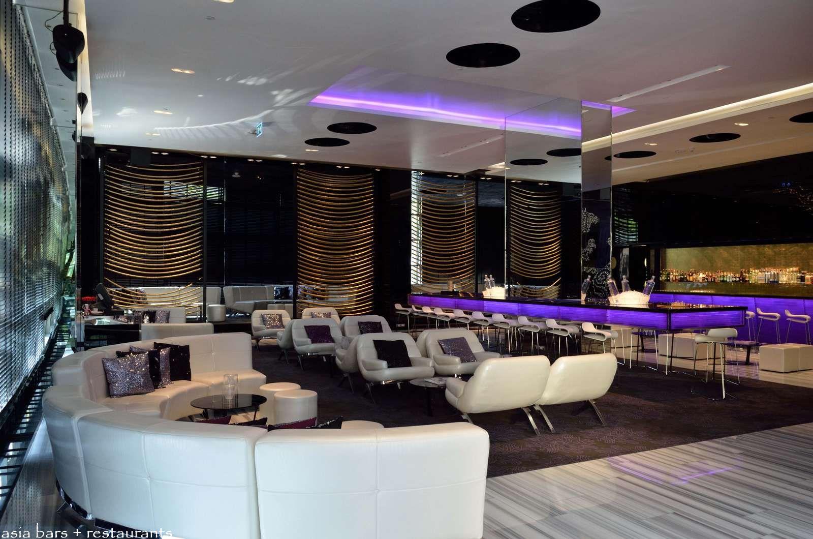 Woobar bar lounge at w bangkok asia bars restaurants - Interior leather bar free online ...
