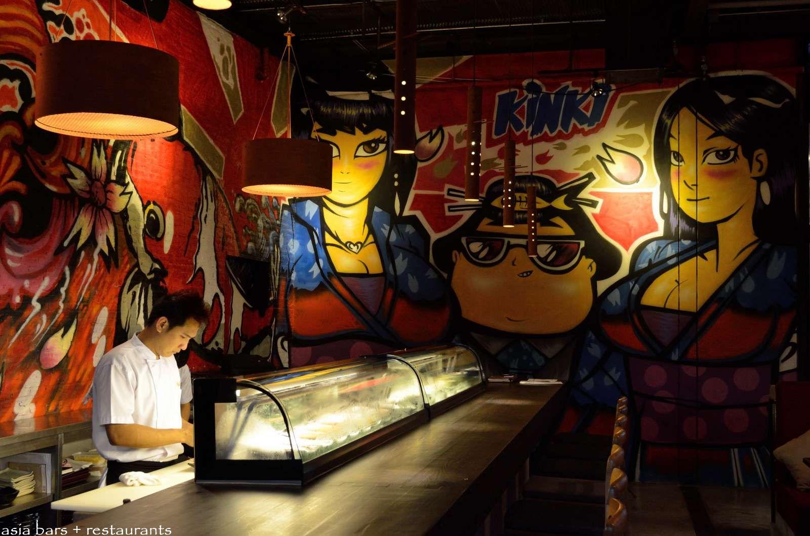 Kinki Rooftop Japanese Restaurant Amp Bar Bangkok Asia