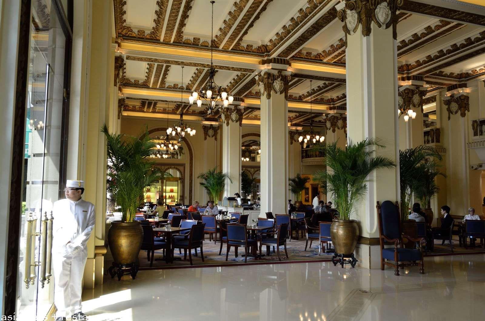The Peninsula Hong Kong Classic Afternoon Tea Asia Bars Restaurants