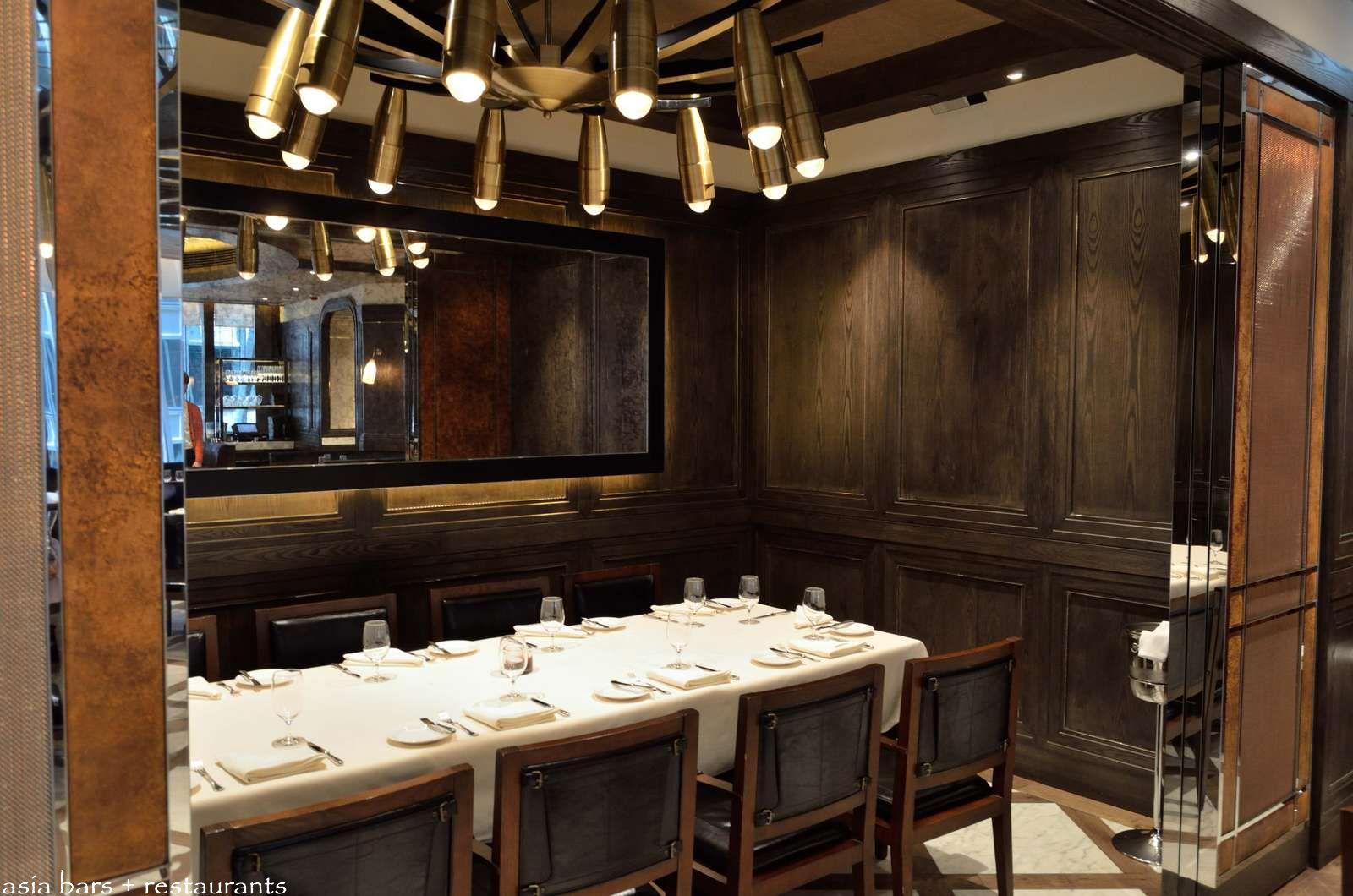 Carnevino steakhouse by mario batali hong kong asia for Dining room hong kong