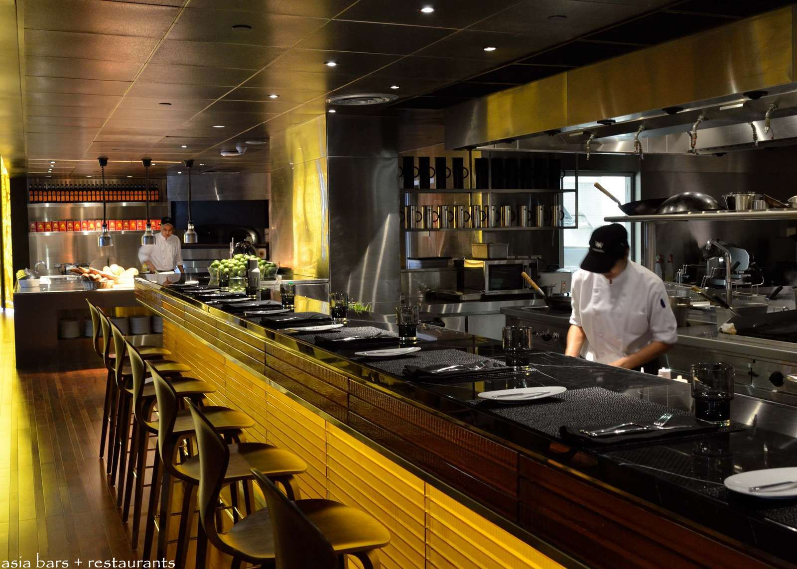 The kitchen table signature restaurant at w bangkok asia bars restaurants - Show picture of kitchen ...