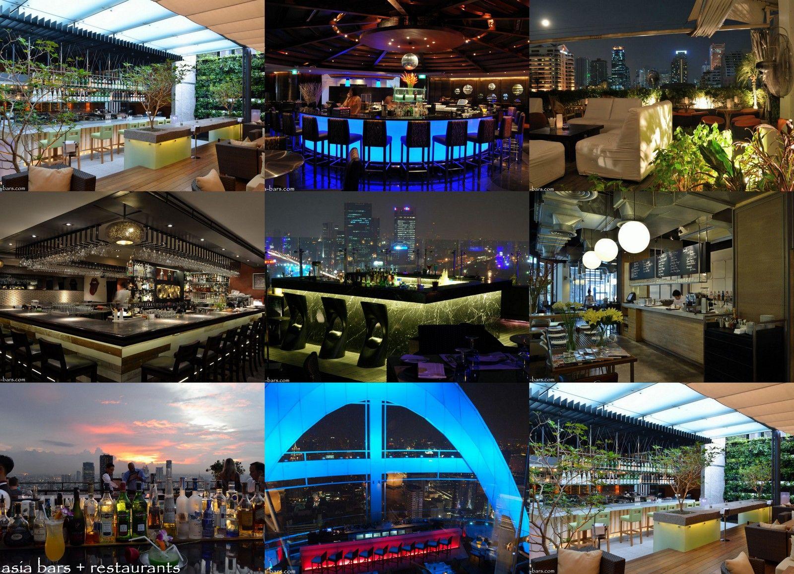 TOP 8 Bangkok Bars & Restaurants 2012 | Asia Bars ...