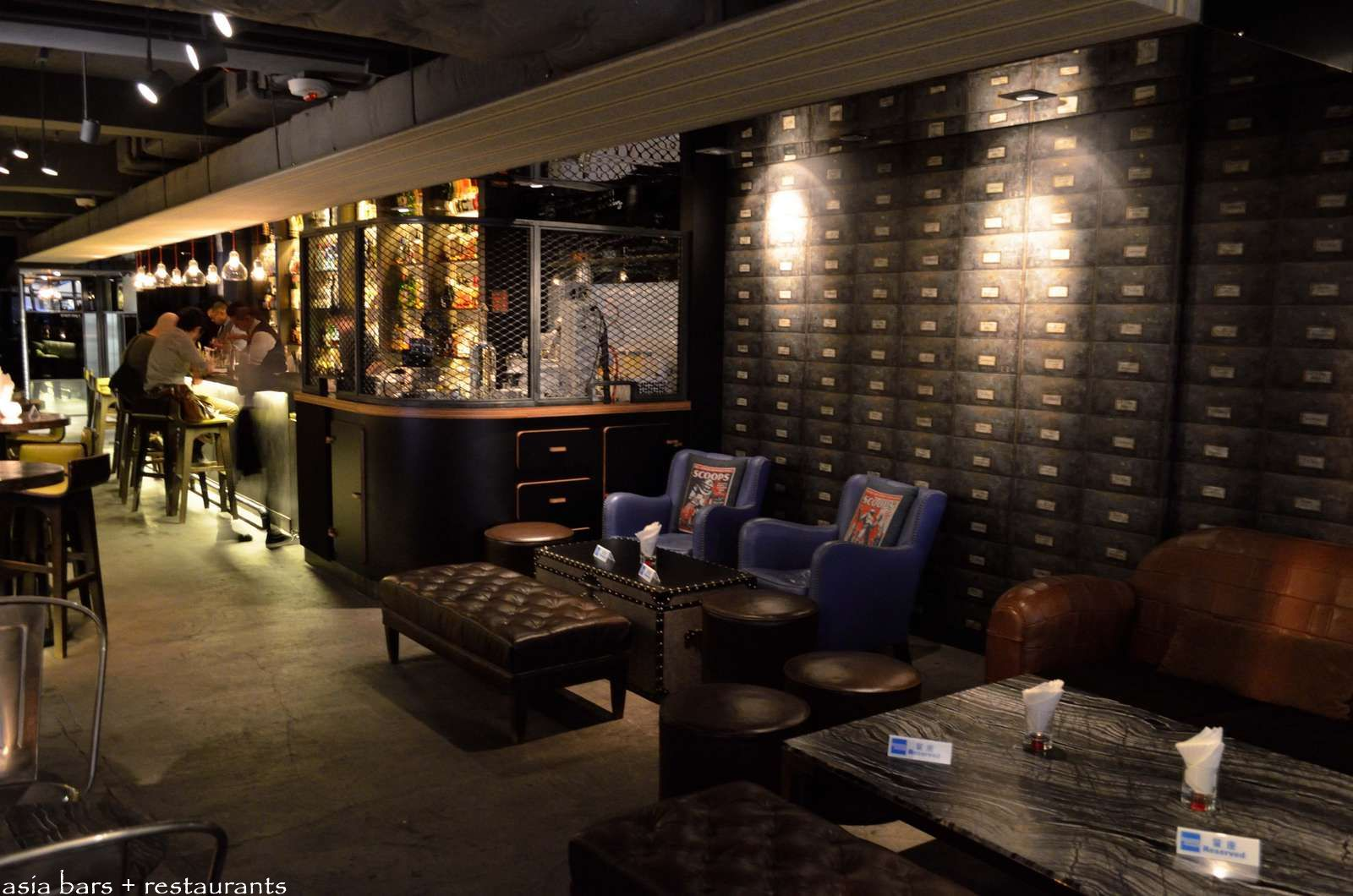Quinary Innovative Cocktail Bar In Hong Kong Asia Bars