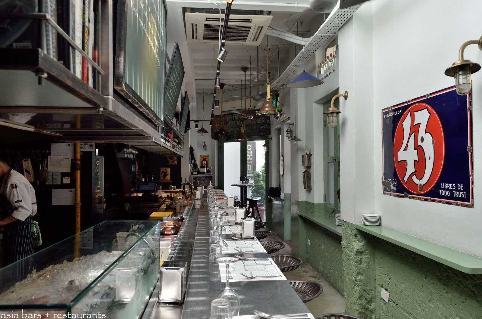 Esquina Modern Tapas Bar In Singapore Asia Bars