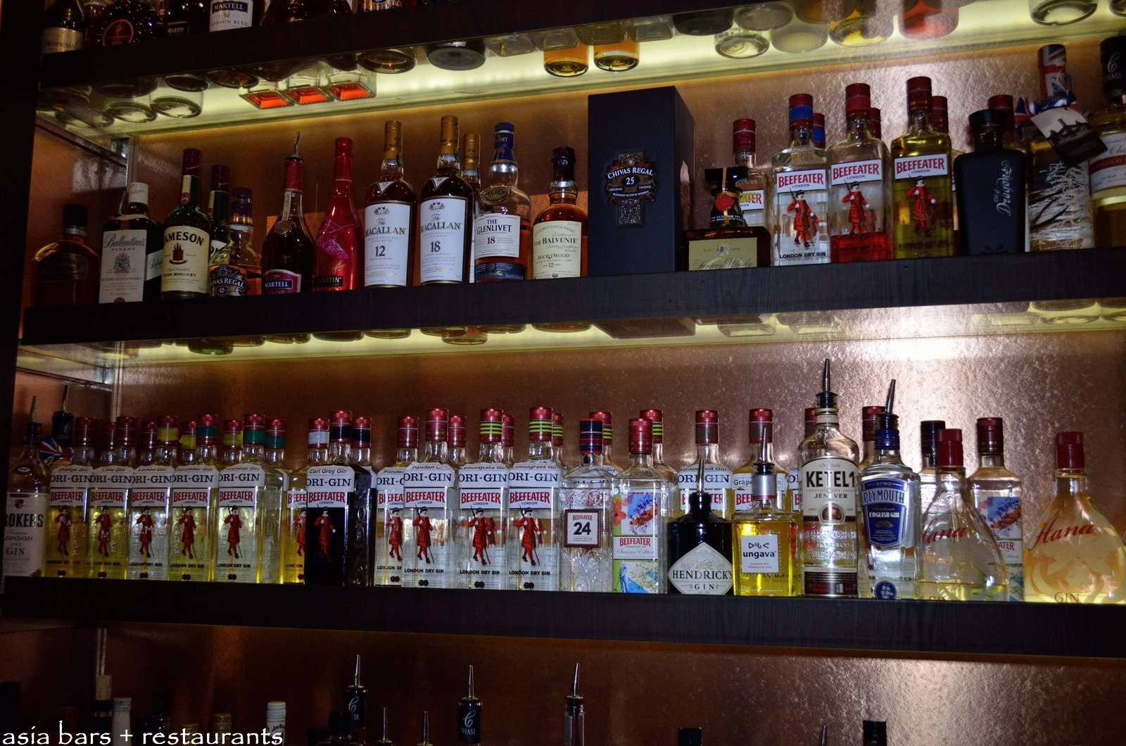 Origin Bar Specialist Gin Bar In Hong Kong Asia Bars