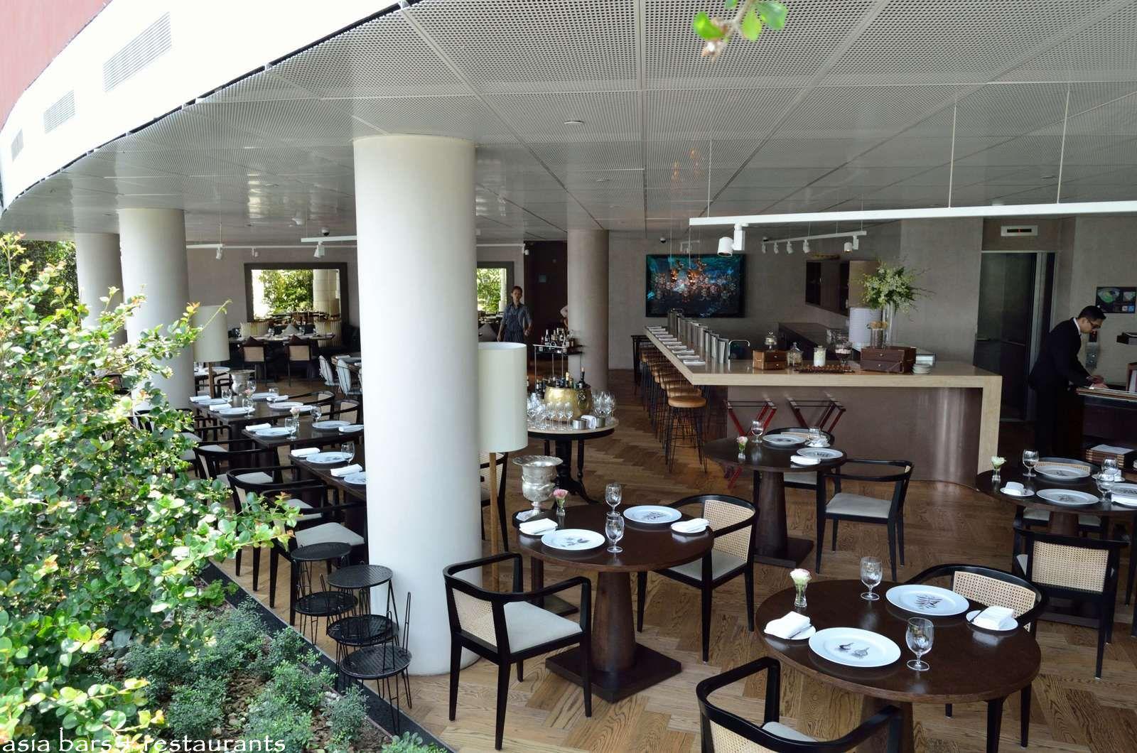 pollen fine dining restaurant in singapore asia bars