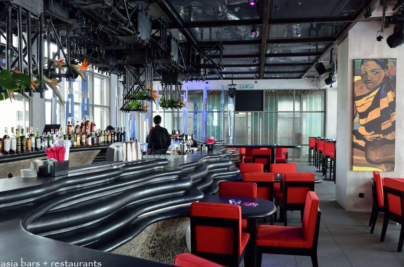 Mai Bar Tiki Themed Rooftop Bar At Aloft Kuala Lumpur Sentral Asia