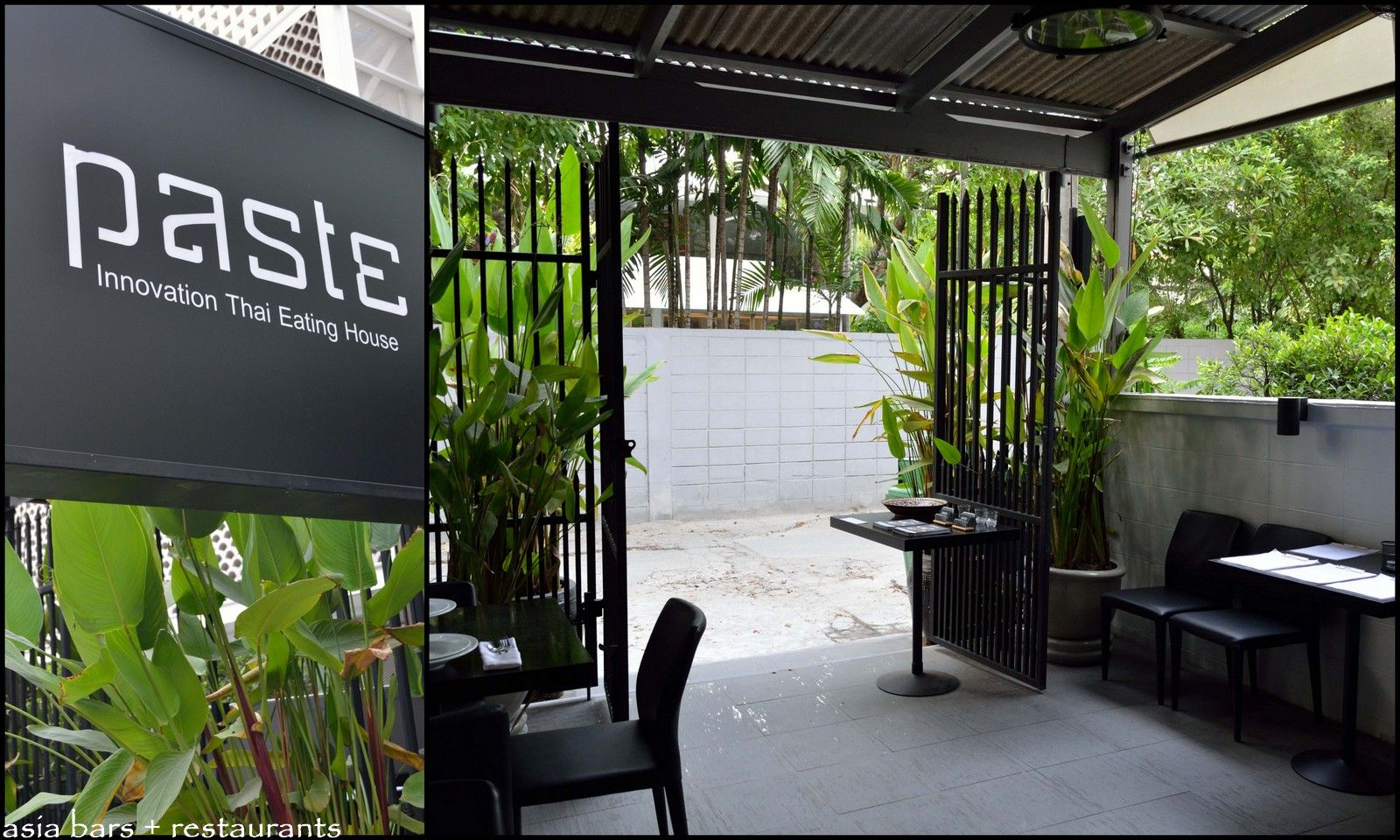 by asia bars: paste bangkok restaurant
