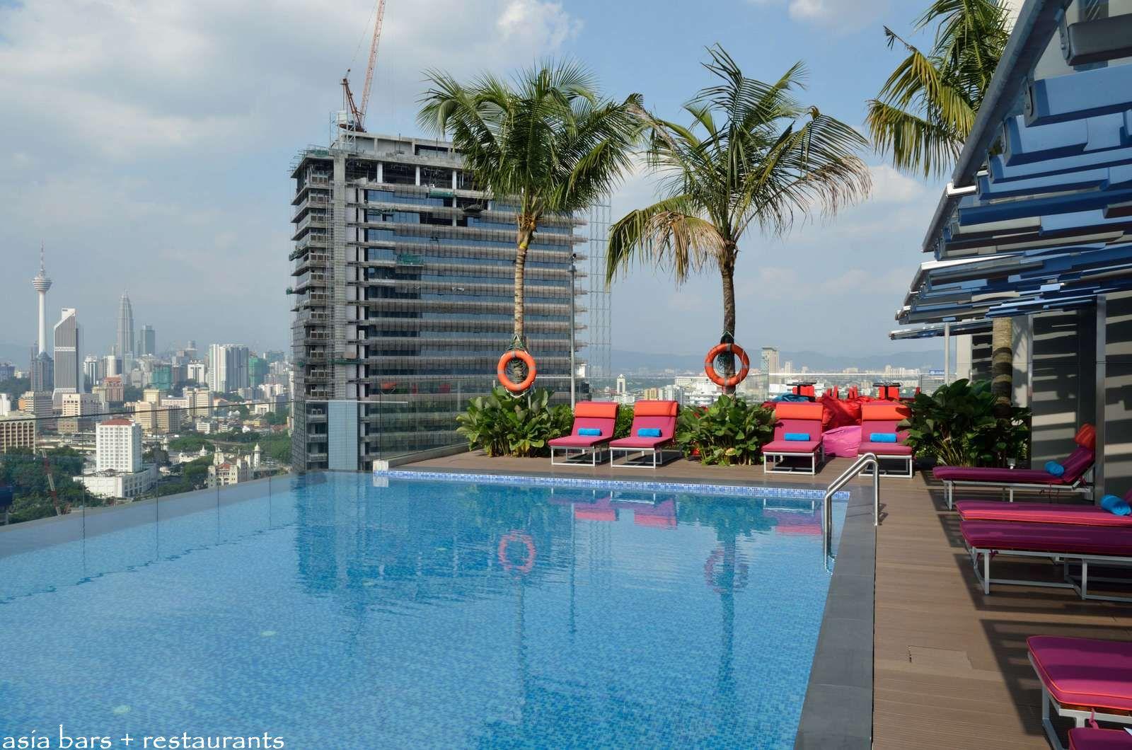 Mai bar tiki themed rooftop bar at aloft kuala lumpur