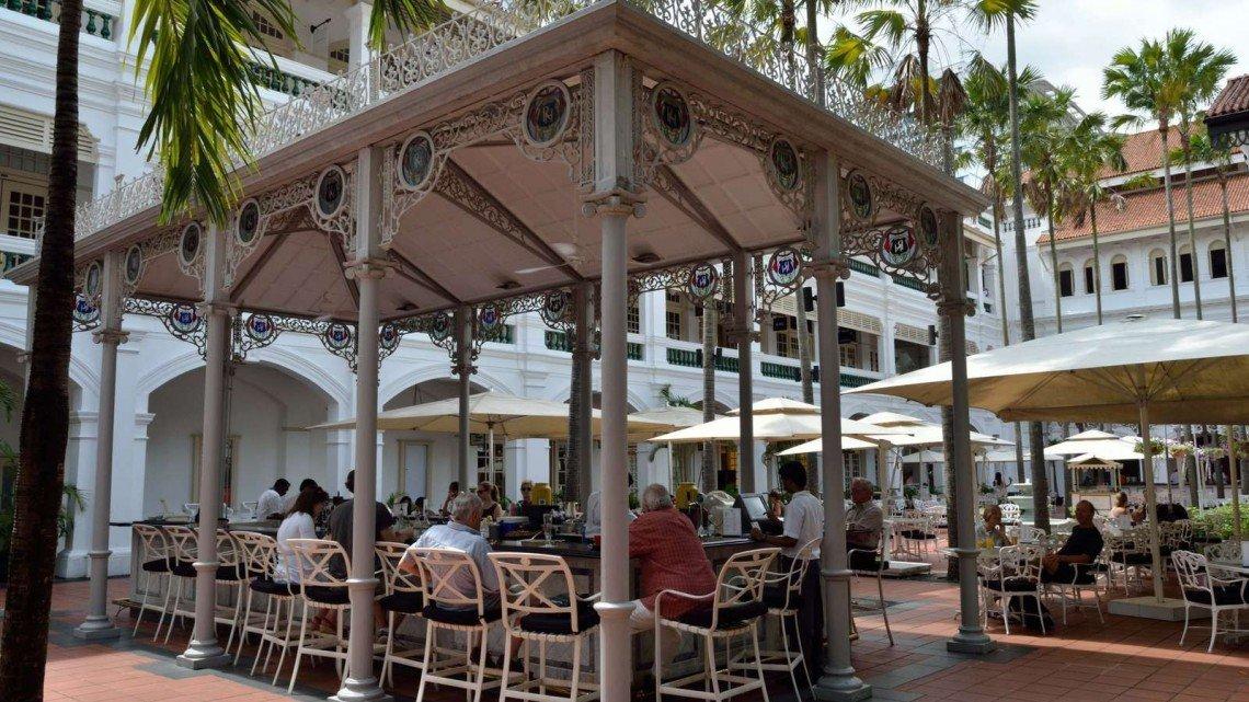 raffles courtyard singapore