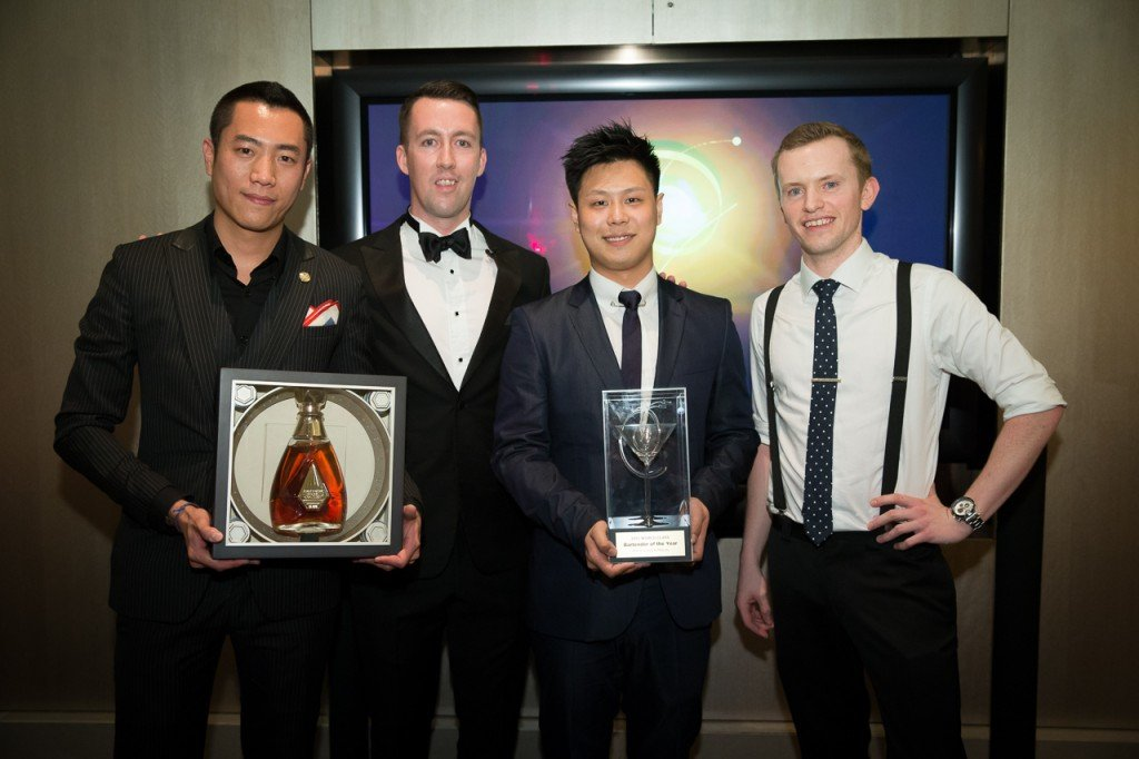 Kae Yin, Adam Brewer, Ricky Liau and Tom Wood World Class Hong Kong