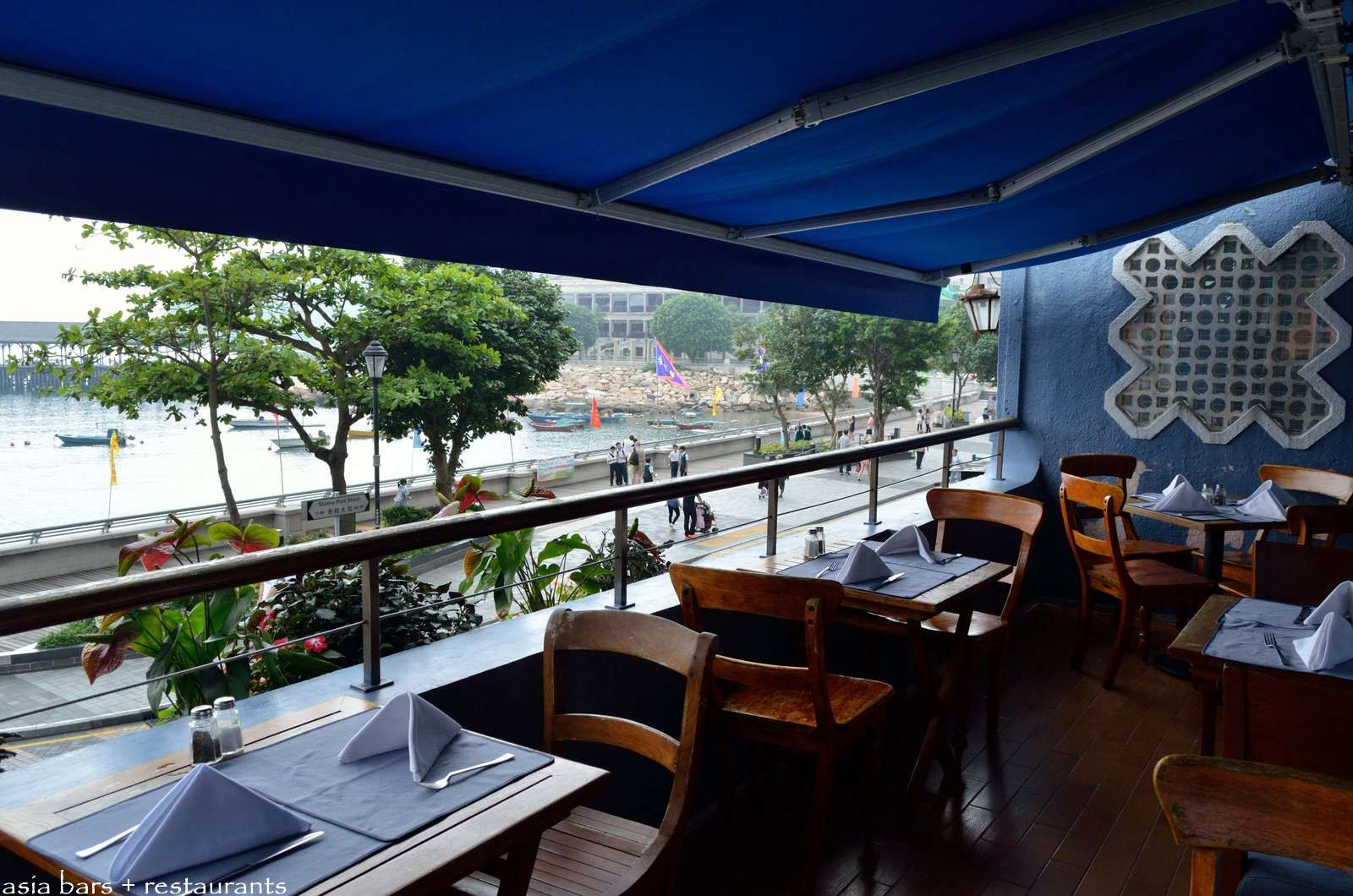 Delightful Seafood Restaurant On Hong Kong Island With Expansive Water Views Over Stanley Bay Boathouse