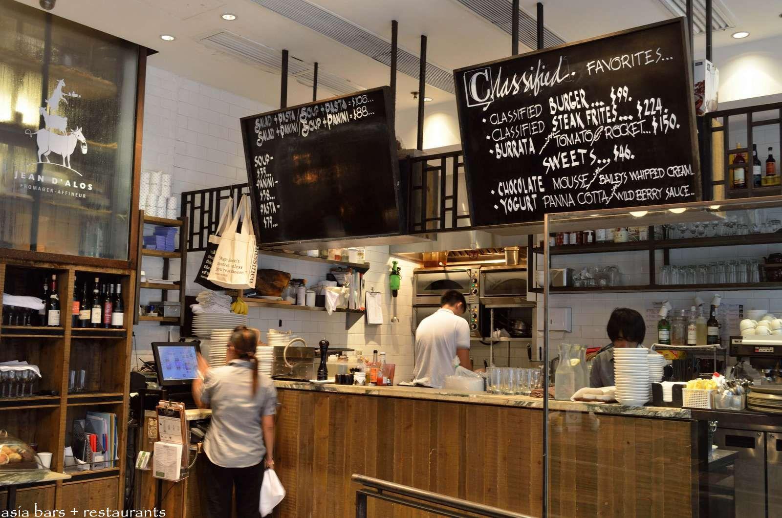 Classified Casual Neighborhood Cafes Hong Kong Asia