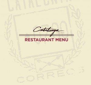 Catalunya Restaurant menu