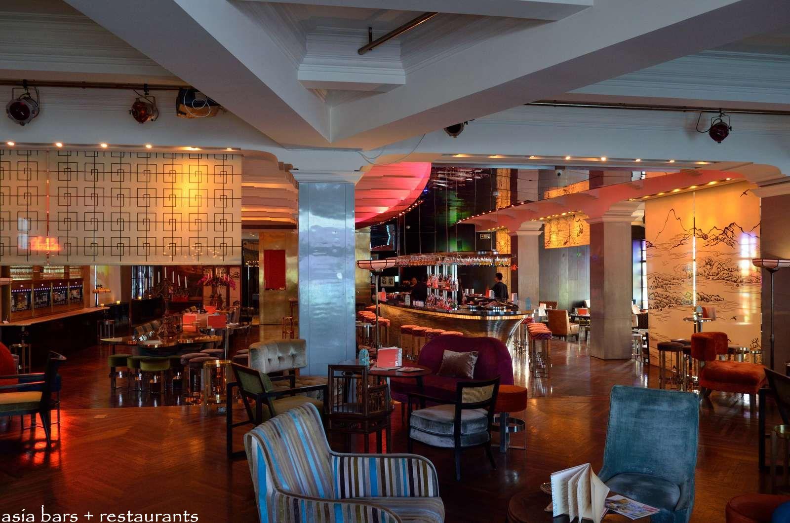 Deco Lounge Bar Restaurant : M glamour bar cocktail lounge the bund shanghai