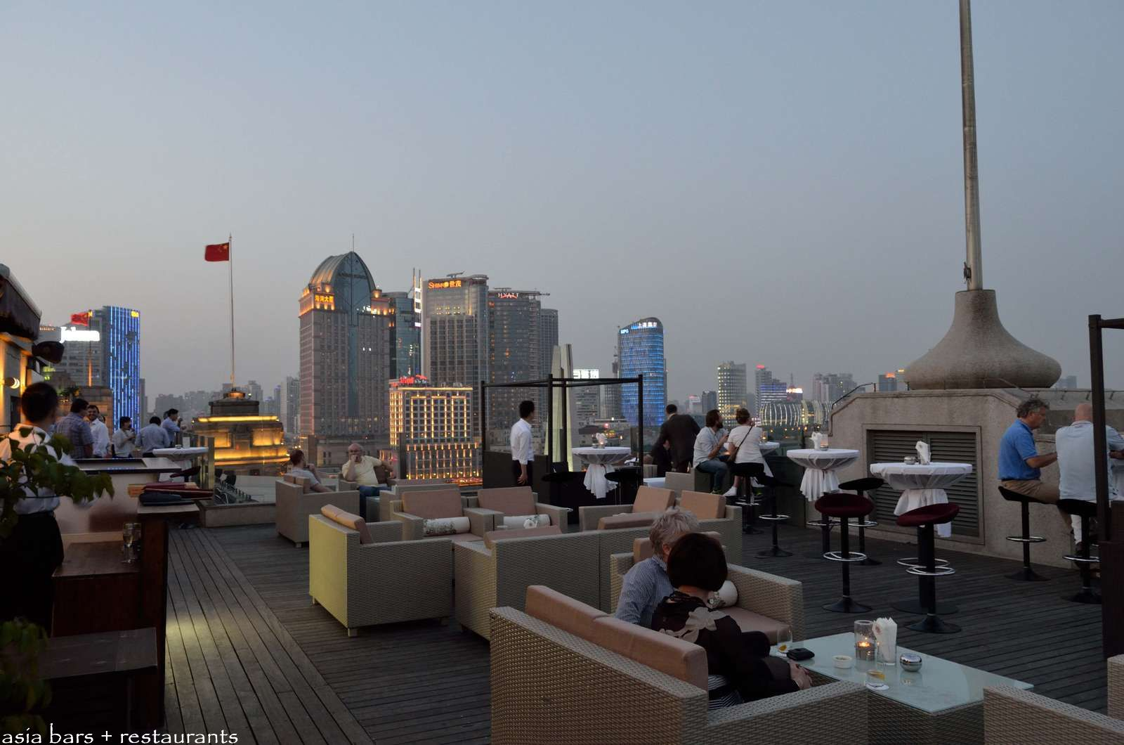 Roosevelt Sky Restaurant Amp Bar Rooftop At The House Of