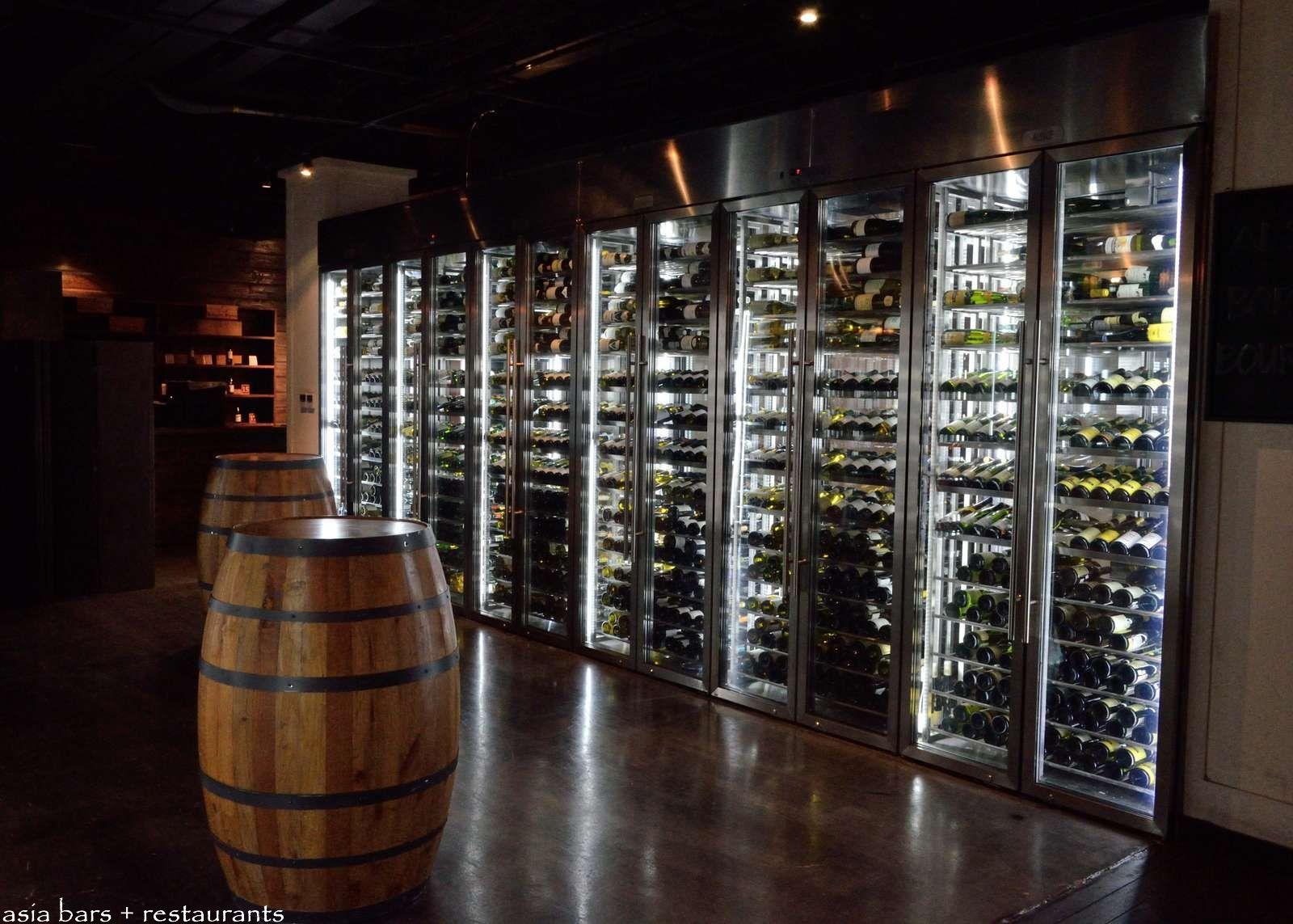Modern Wine Cellar Glass Roosevelt wine cellar