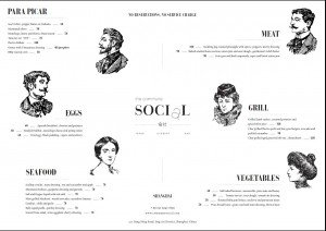 commune social Tapas Menu