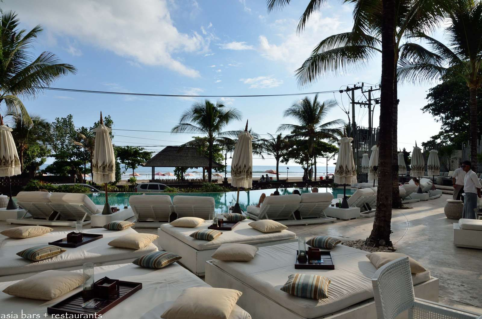 Cocoon Restaurant Amp Beach Club Seminyak Beach Bali