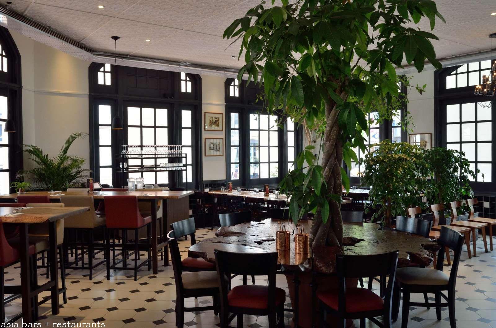 The halia restaurant bar at raffles hotel singapore for Hotel restaurant
