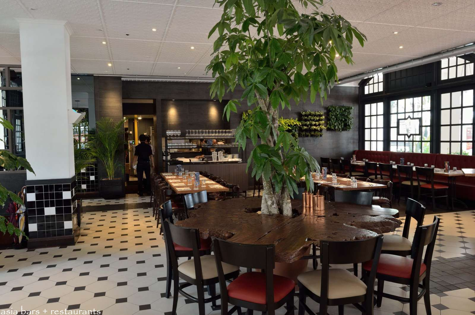 Halia Restaurant Raffles Hotel Singapore