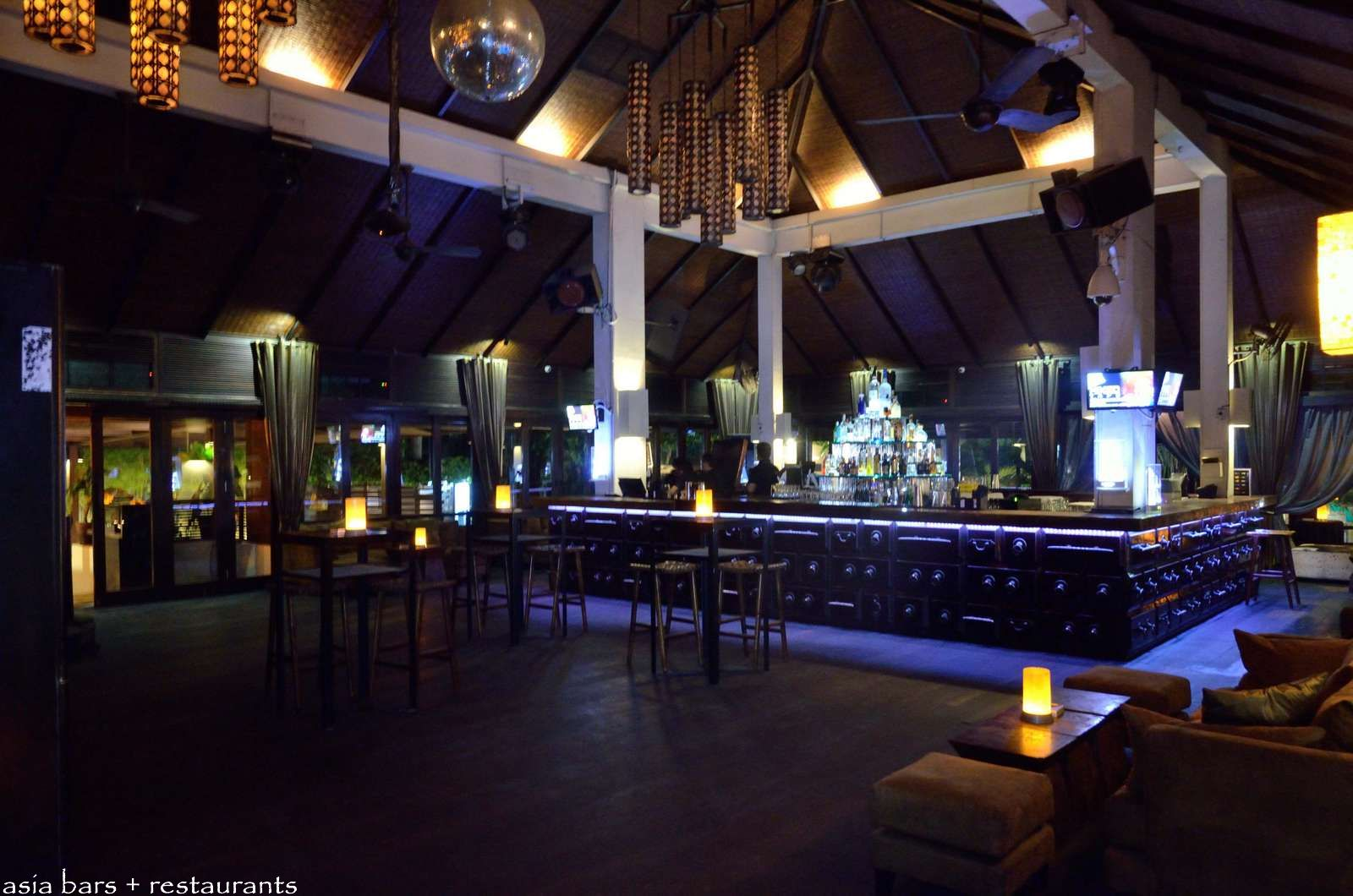 Hu U Bar Stellar Nightclub In Bali Indonesia Asia Bars