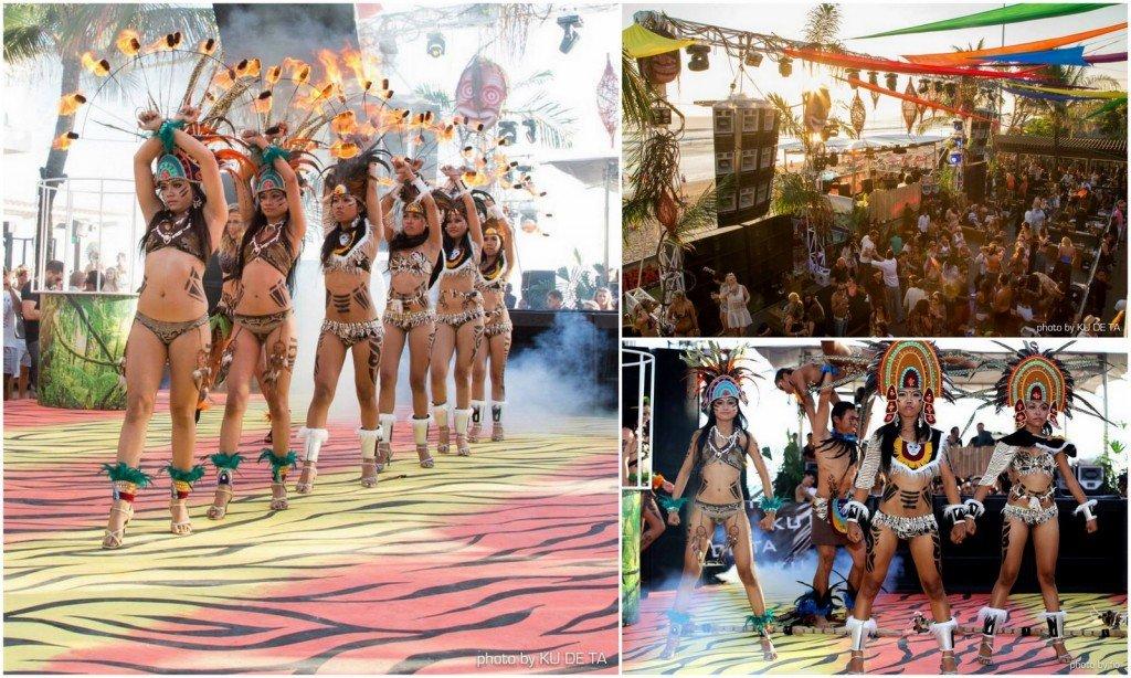 ku de ta-tribal bikini party