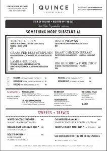 quince july 2013 menu back