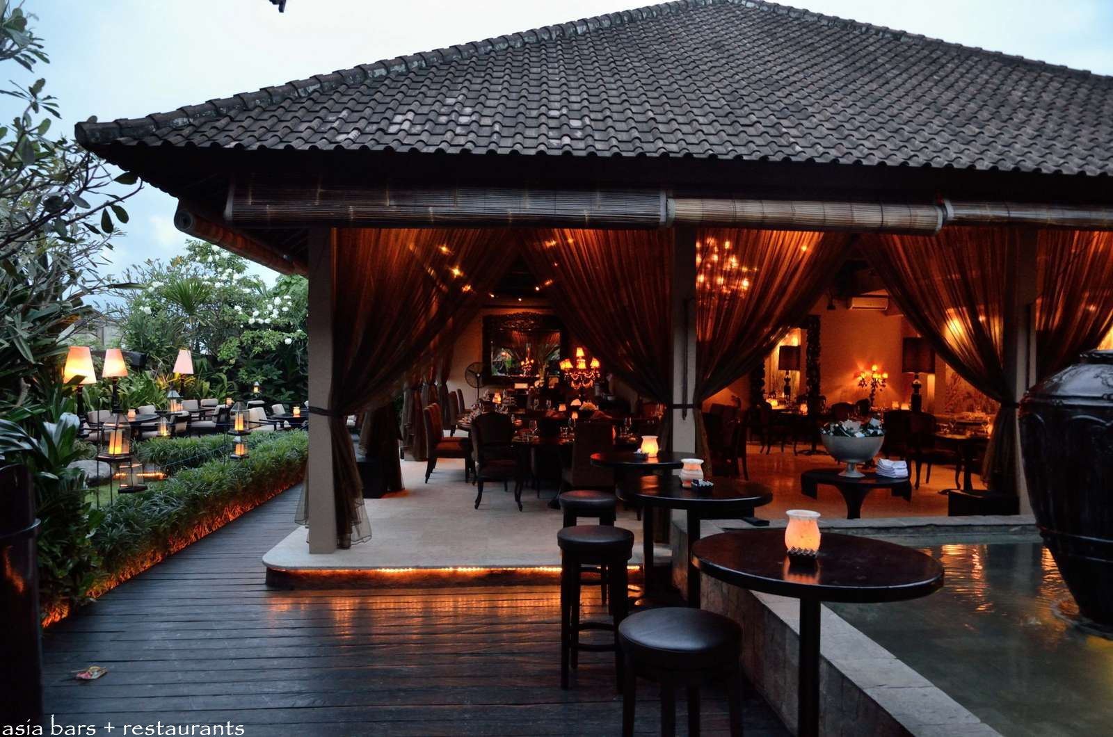 Sarong Acclaimed Pan Asian Restaurant Bar Lounge In Bali on Bali Tropical House Plans
