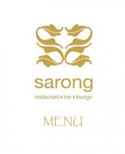 sarong menu