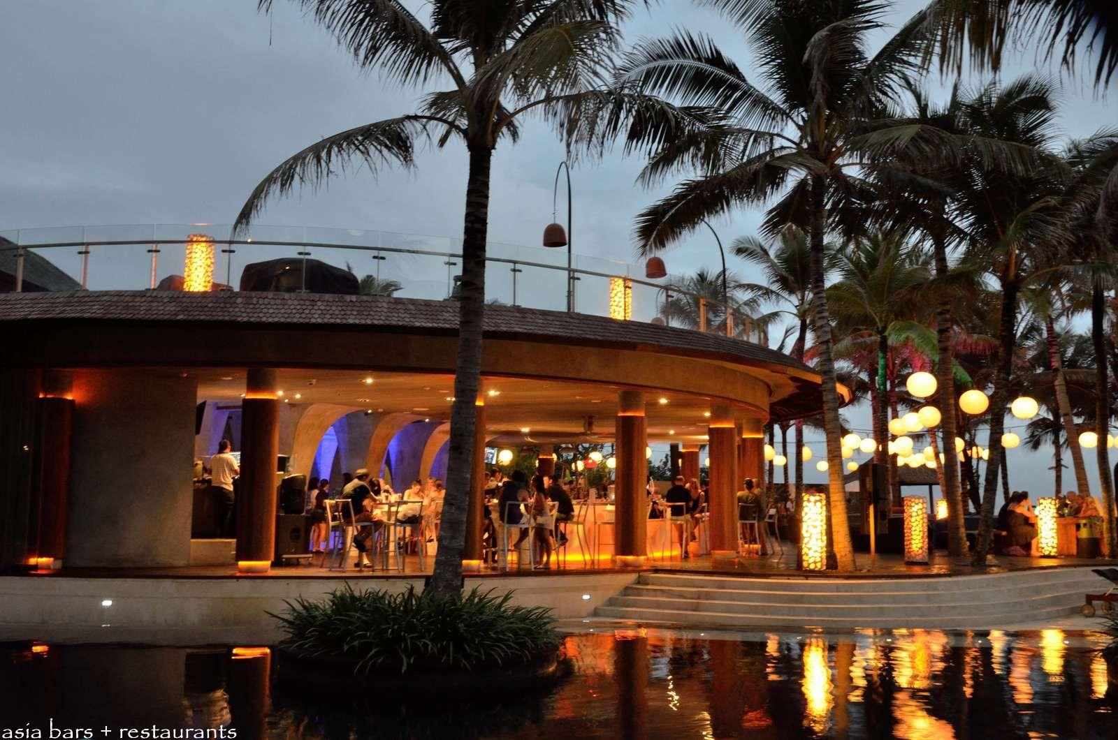 Restaurants Kitchen Design Woobar Beachfront Bar At W Retreat Amp Spa Bali Seminyak