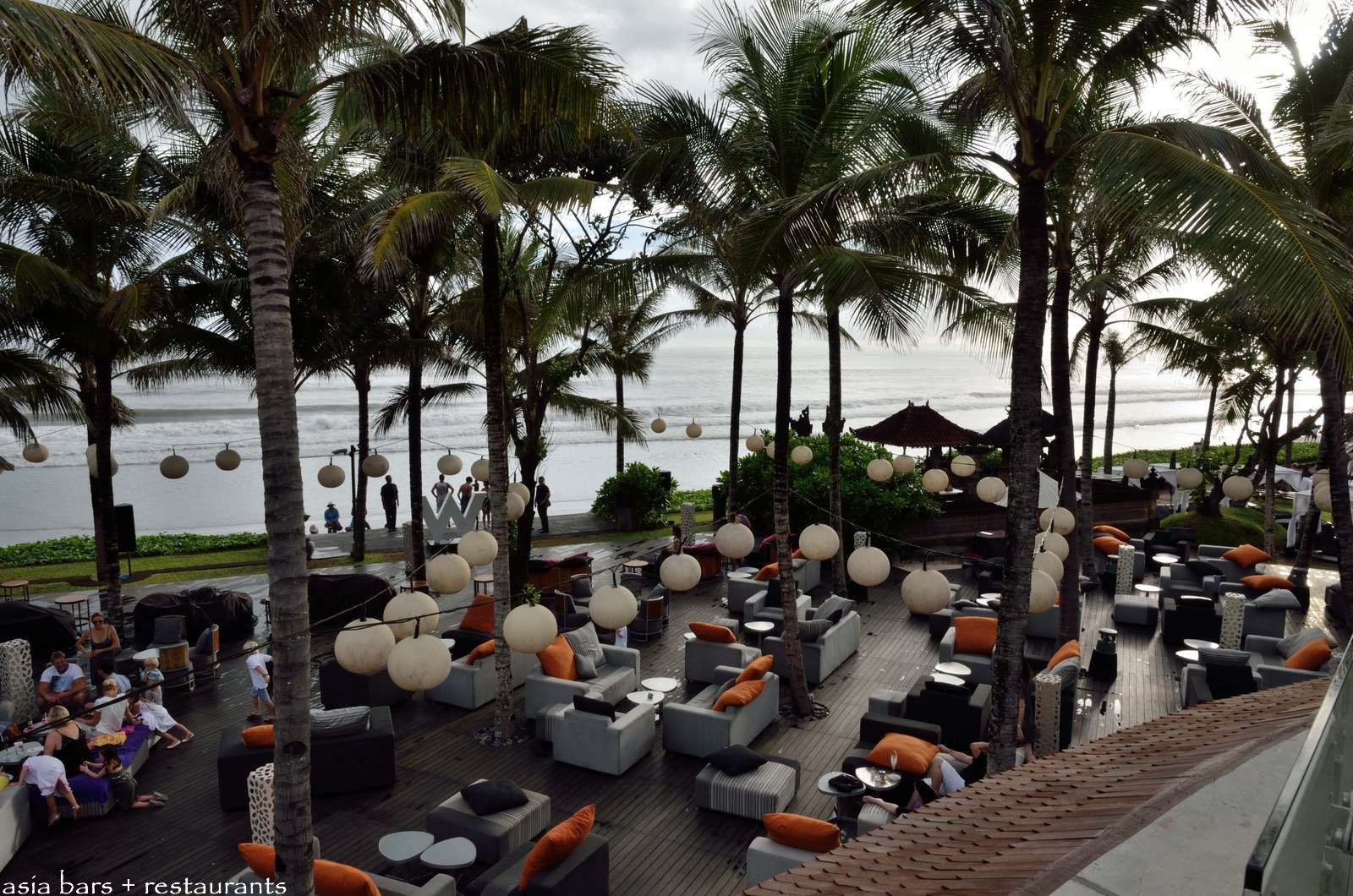Beach Front Restaurants Bali