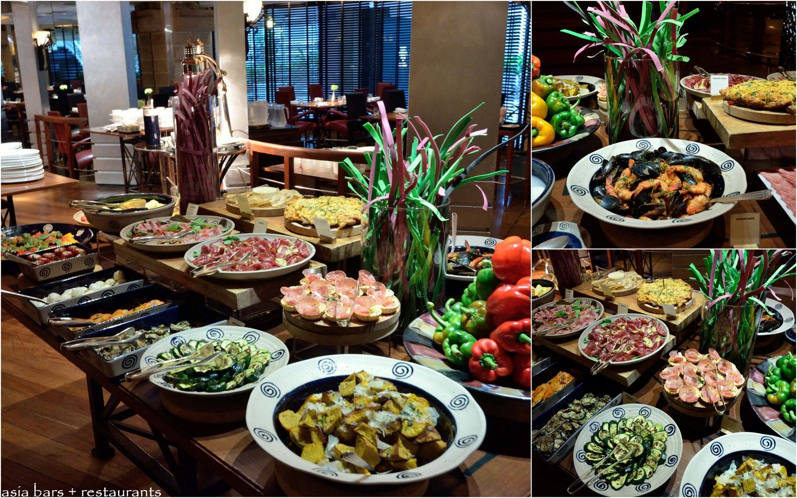 Spasso Italian Restaurant Amp Bar At Grand Hyatt Erawan
