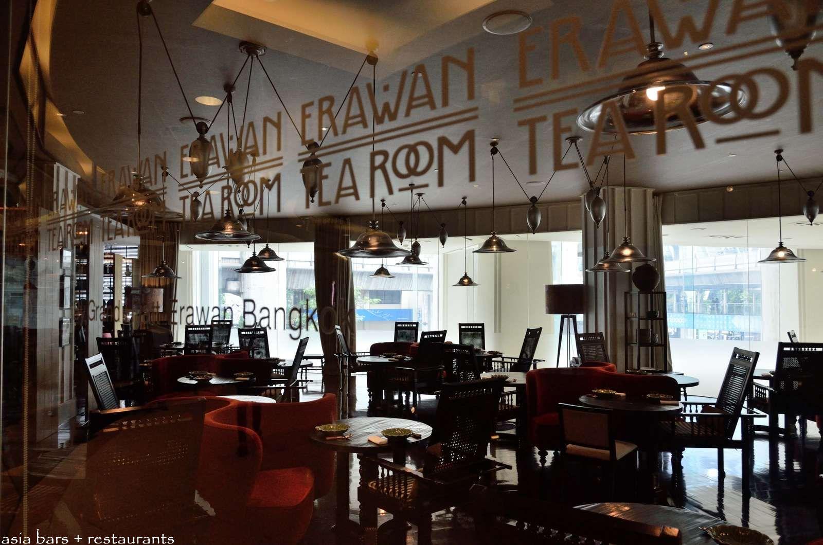 Erawan Tea Room Grand Hyatt Hotel Bangkok Thailand
