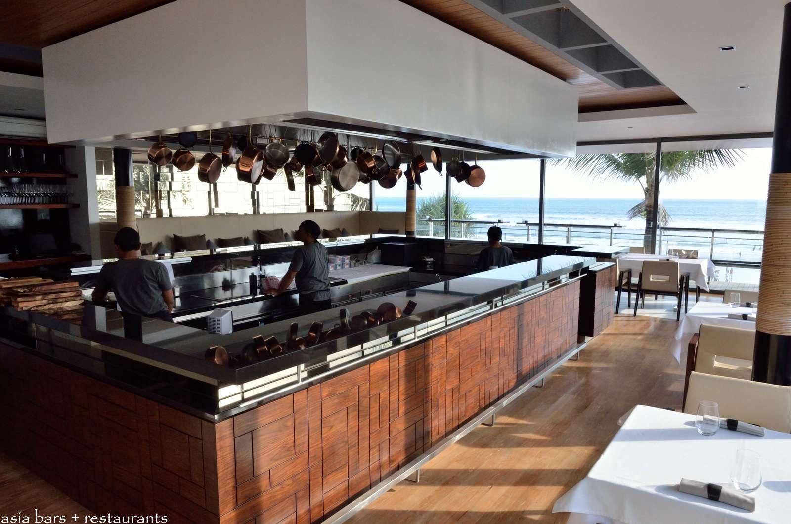 restaurant open kitchen concept. Mejekawi At Kudeta. The Sleek Open Kitchen Restaurant Concept N