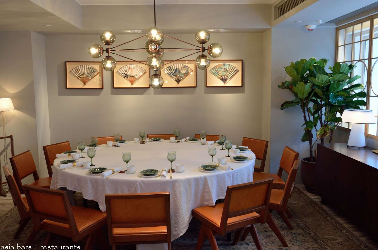 Duddell s restaurant salon art space in hong kong for Best private dining rooms hong kong
