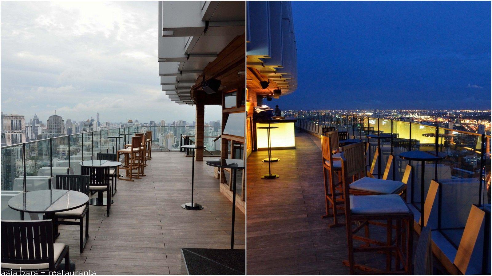 Octave Rooftop Lounge Amp Bar Bangkok Marriott Sukhumvit