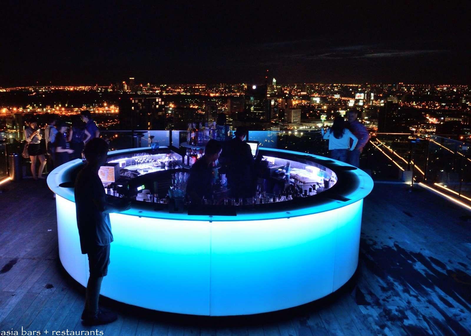 Octave- Rooftop Lounge & Bar at Bangkok Marriott Hotel ...