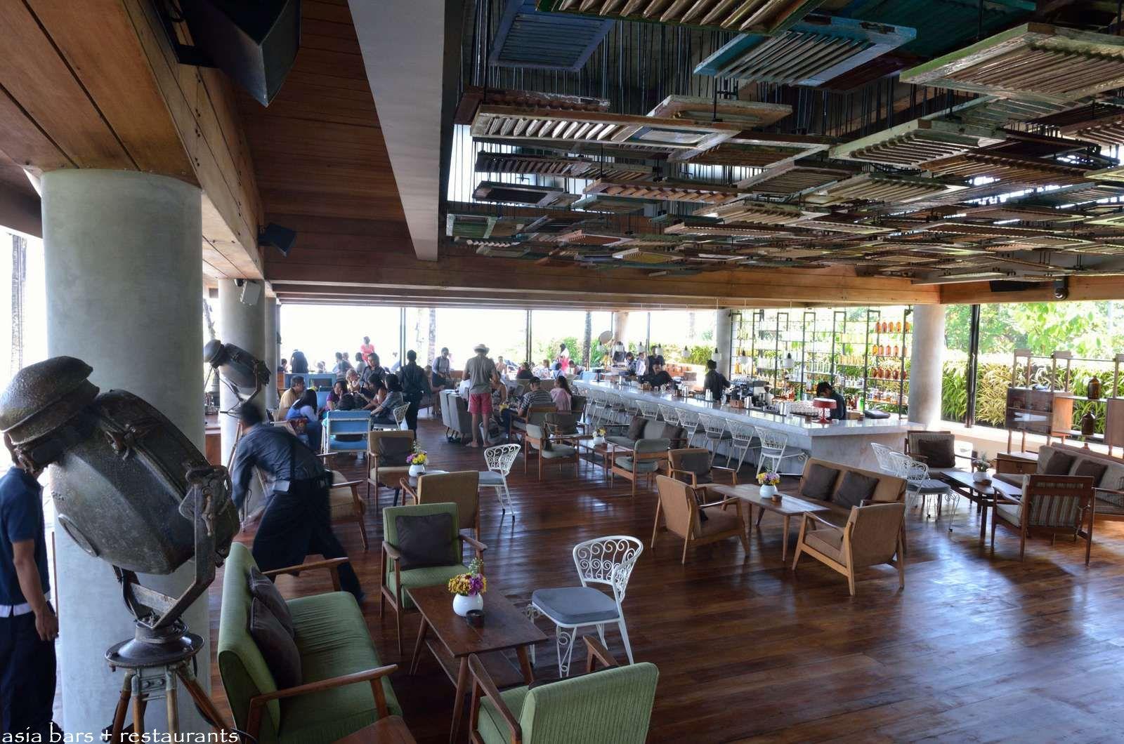 Potato Head Beach Club Beachfront Pool Drinks Dining At Seminyak Bali Asia Bars