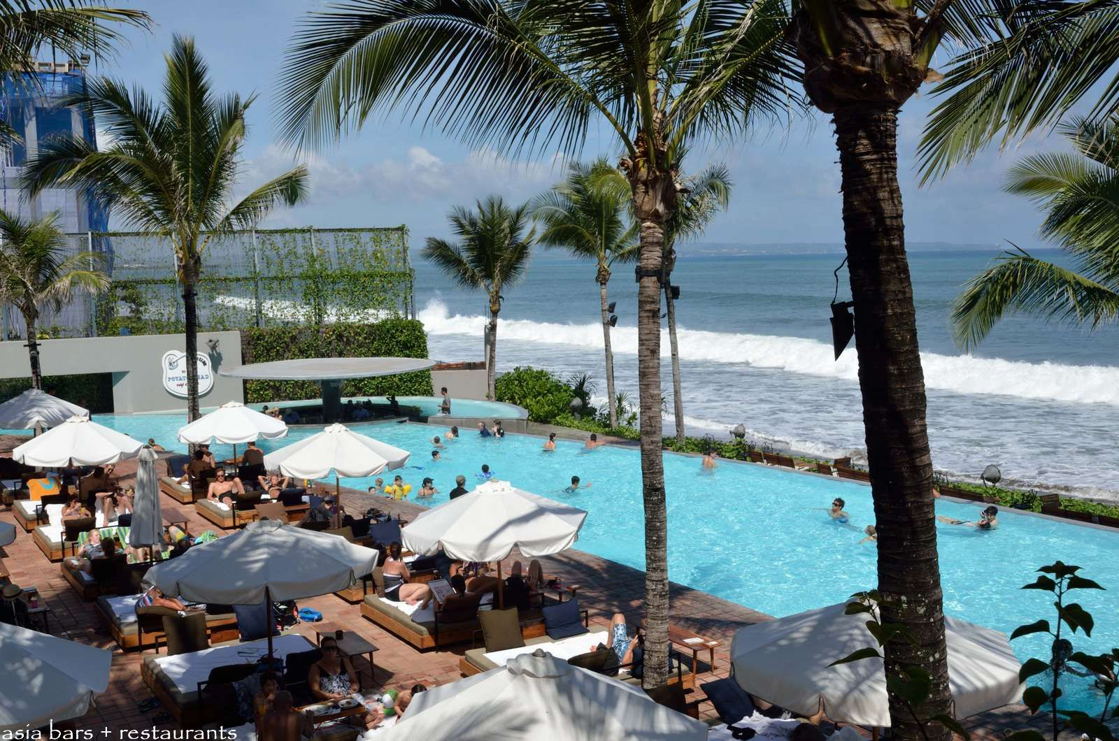 Potato Head Beach Club Beachfront Pool Drinks Dining At